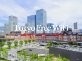 Guide to Free WiFi in Tokyo