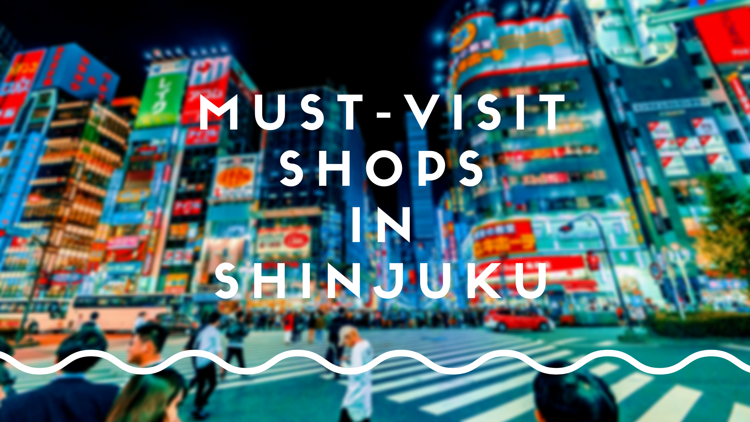 Shinjuku Shopping Guide
