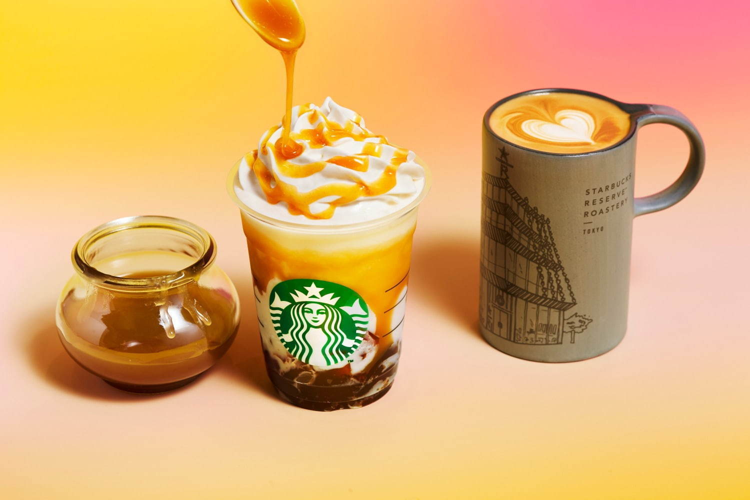 Butterscotch Coffee Jelly Frappuccino