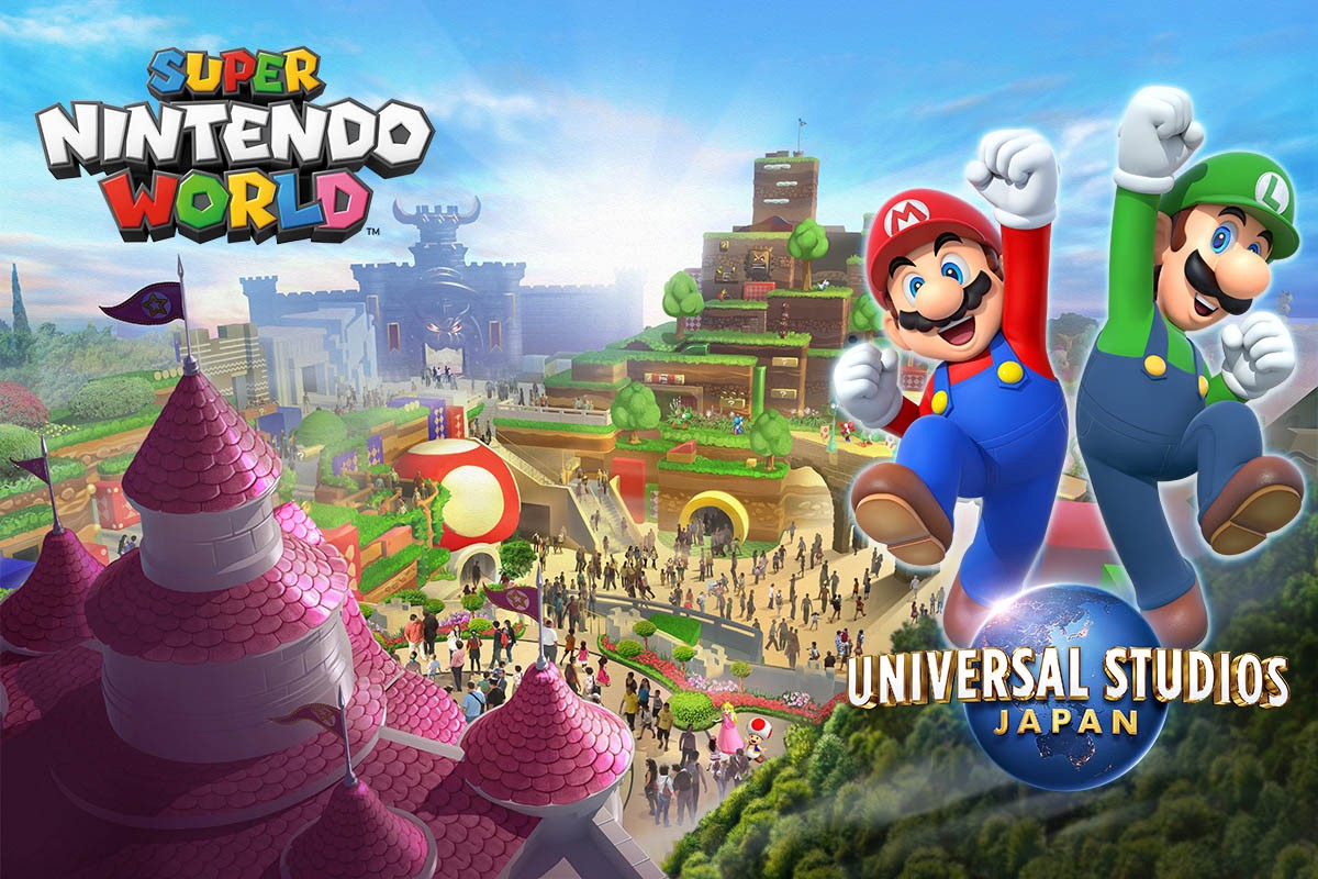 SUPER NINTENDO WORLD: Mario's Area at Universal Studio Japan