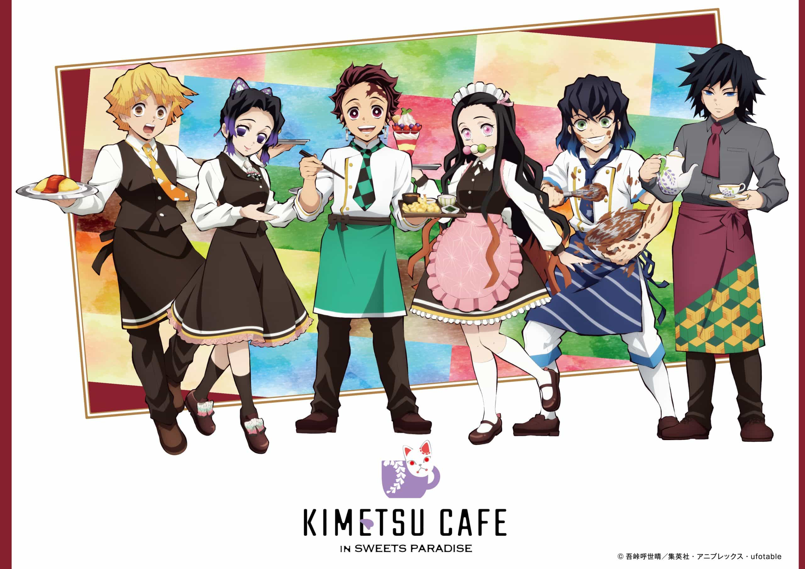 KIMETSU CAFE in SWEETS PARADISE: Demon Slayer's Theme Cafe in Japan