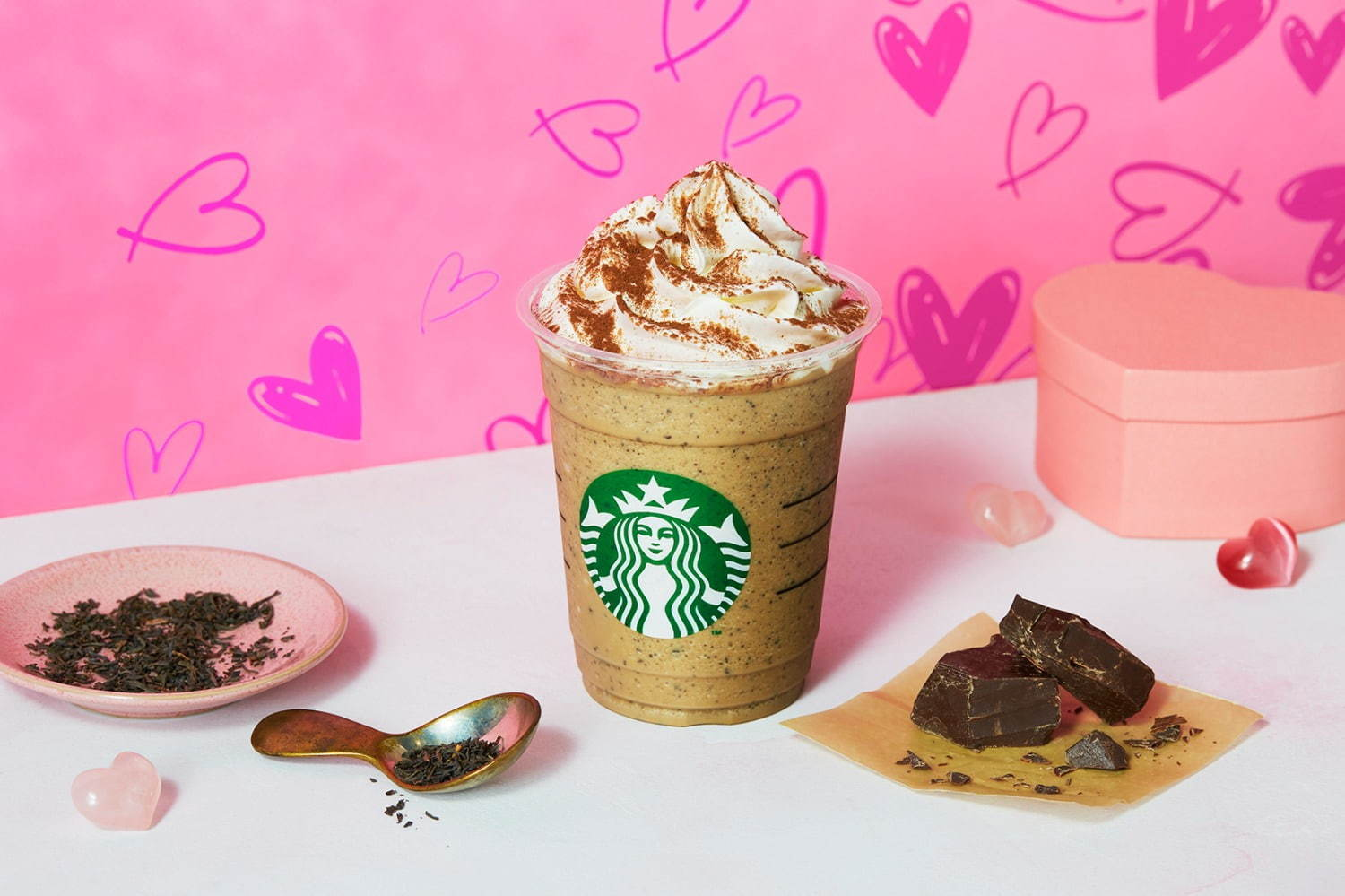 Chocolate with Milk Tea Frappuccino