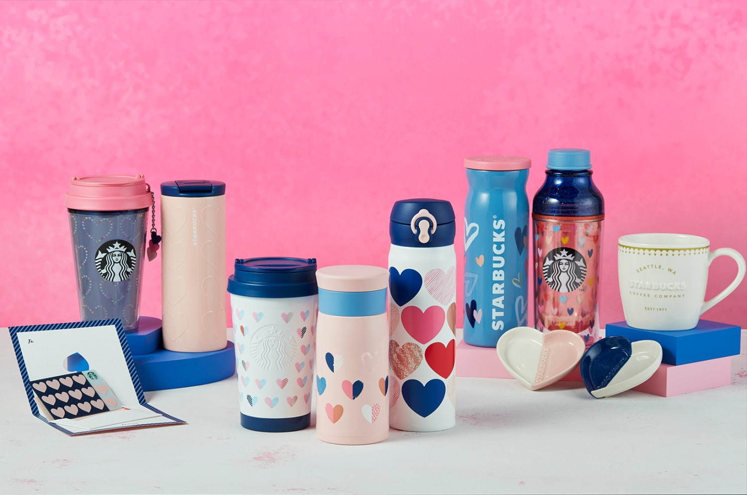 Starbucks Japan Valentine's Day Tumblers and Mugs 2020