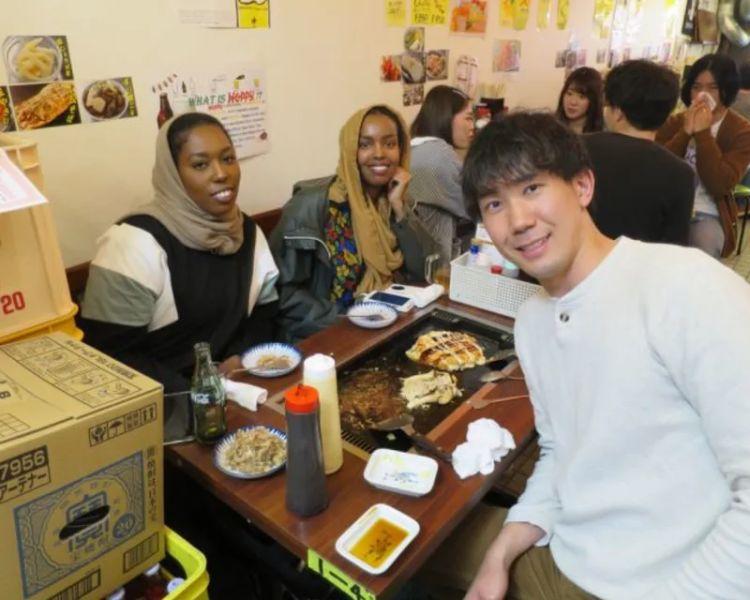 Okonomiyaki Making