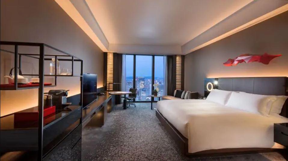 Conrad Osaka room view