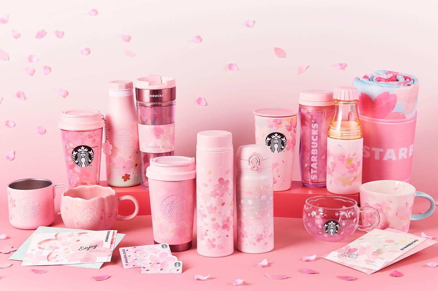 Starbucks Japan Sakura Tumblers and Mugs2020