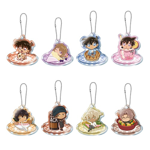 Acrylic Key Chains sold at Detective Conan Cafe 2020