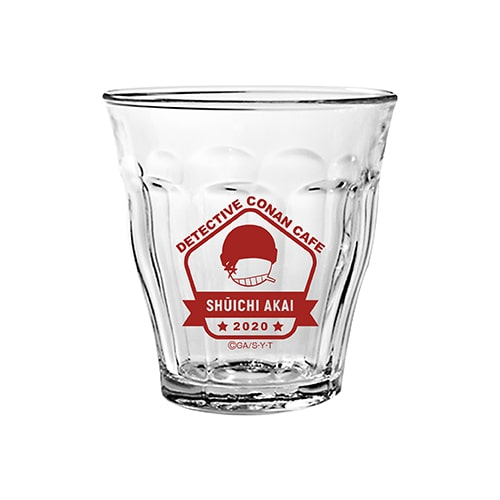 Glass sold at Detective Conan Cafe 2020