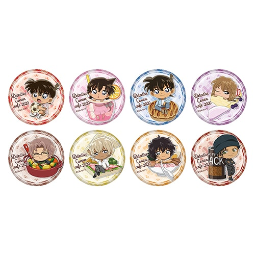 Button Badges sold at Detective Conan Cafe 2020