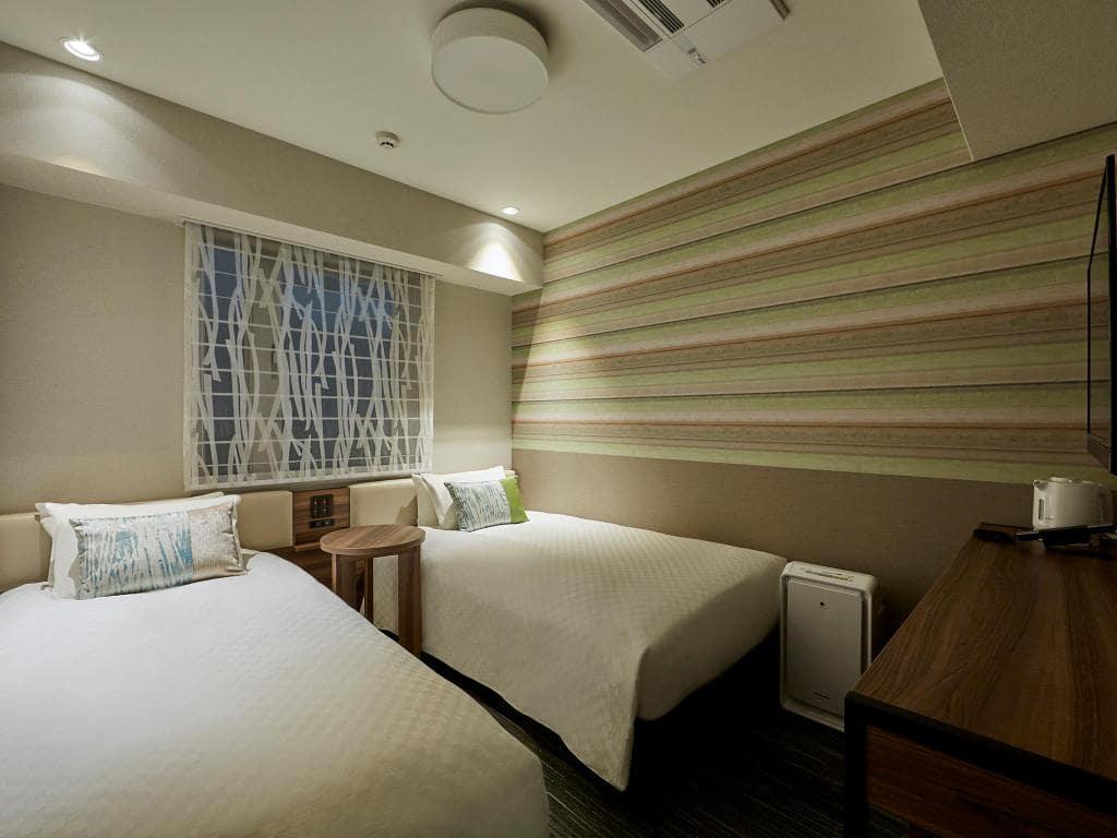 Pemandangan kamar Hearton Hotel