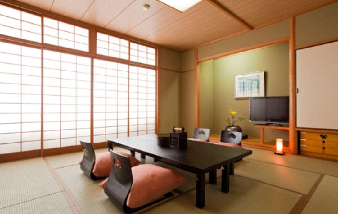 Pemandangan kamar Yamatoya Honten