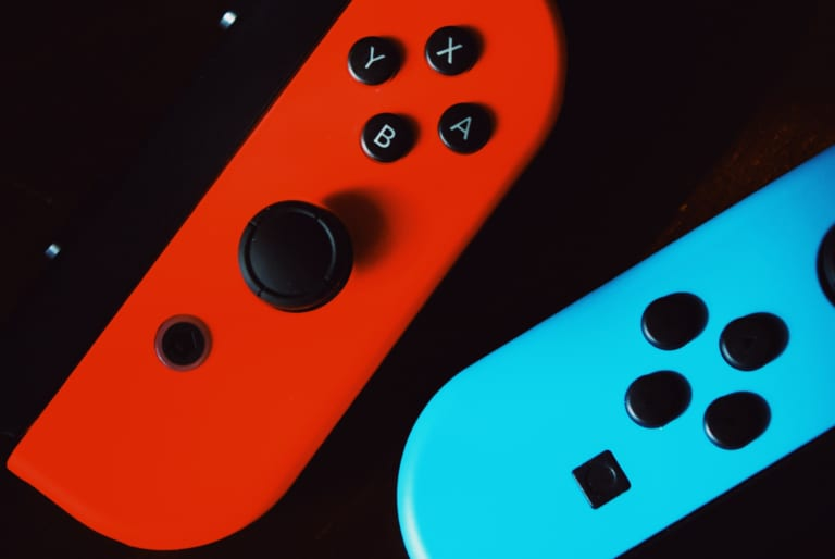 Game controllers of Switch