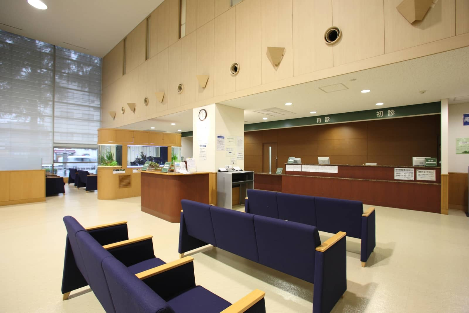 Lobby in the hospital