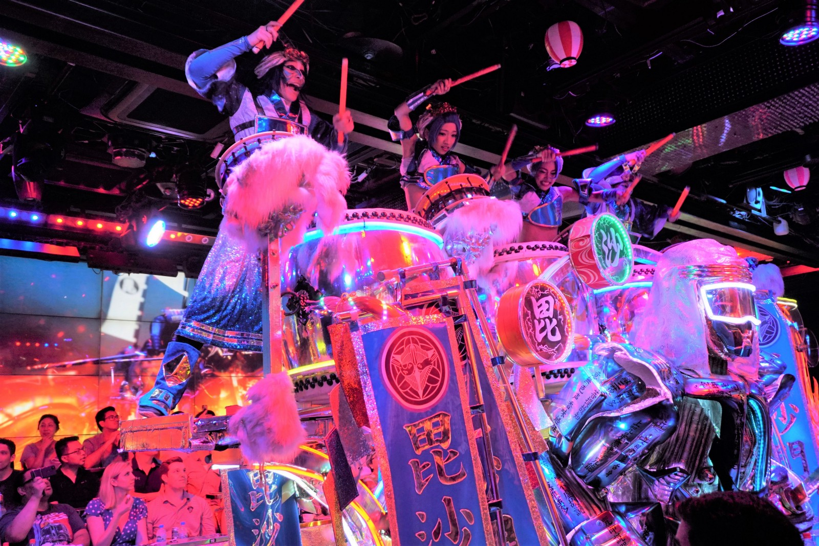 Performers at Robot Restaurant