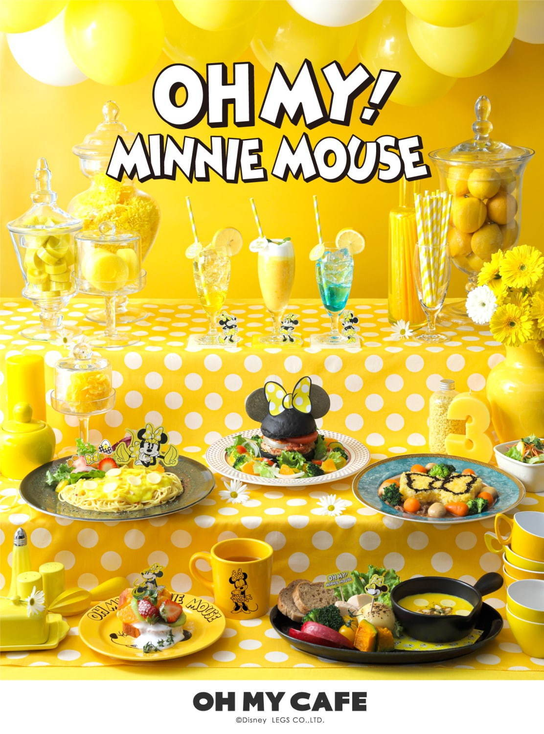 MINNIE MOUSE CAFE in Japan2020