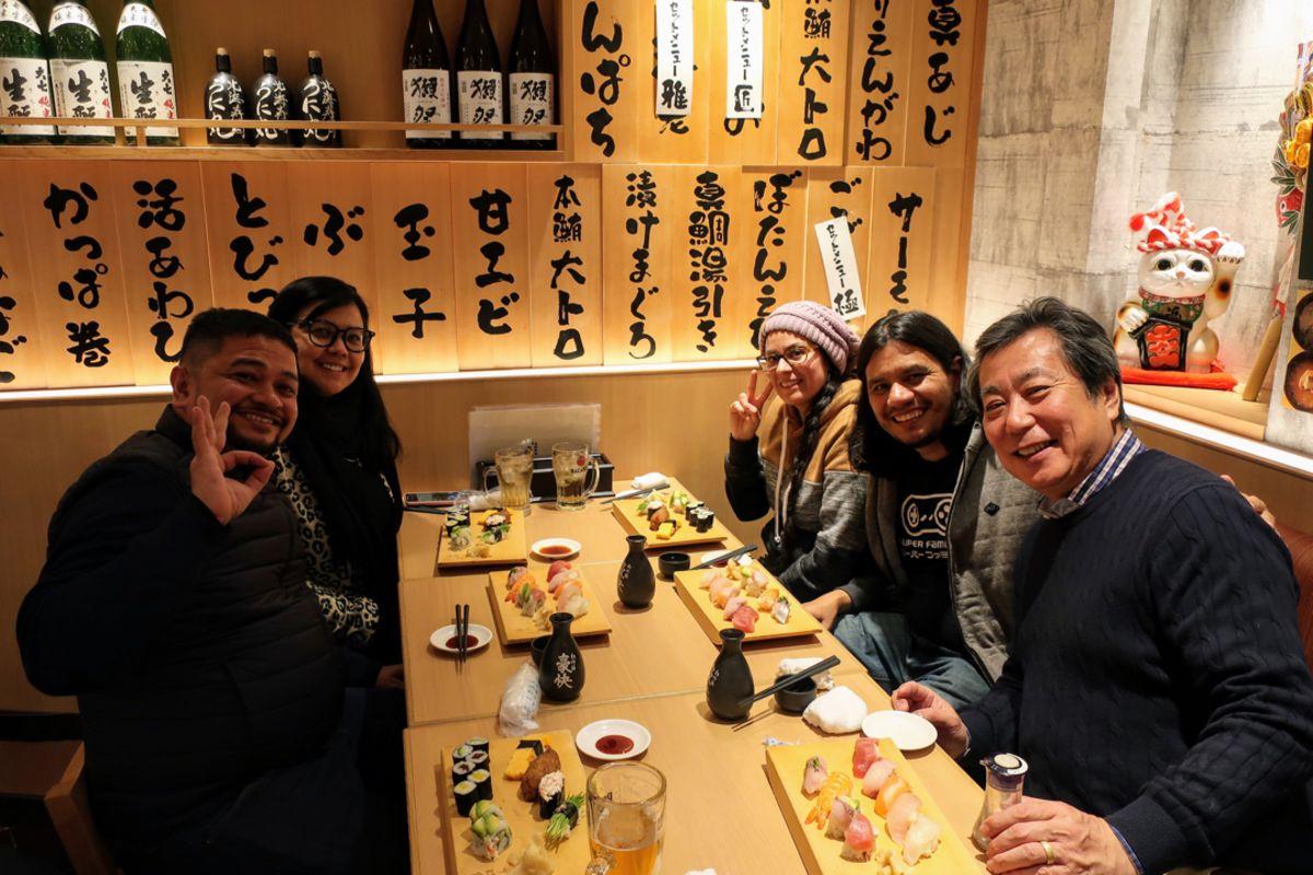 Yakiniku restaurant in Shinjuku