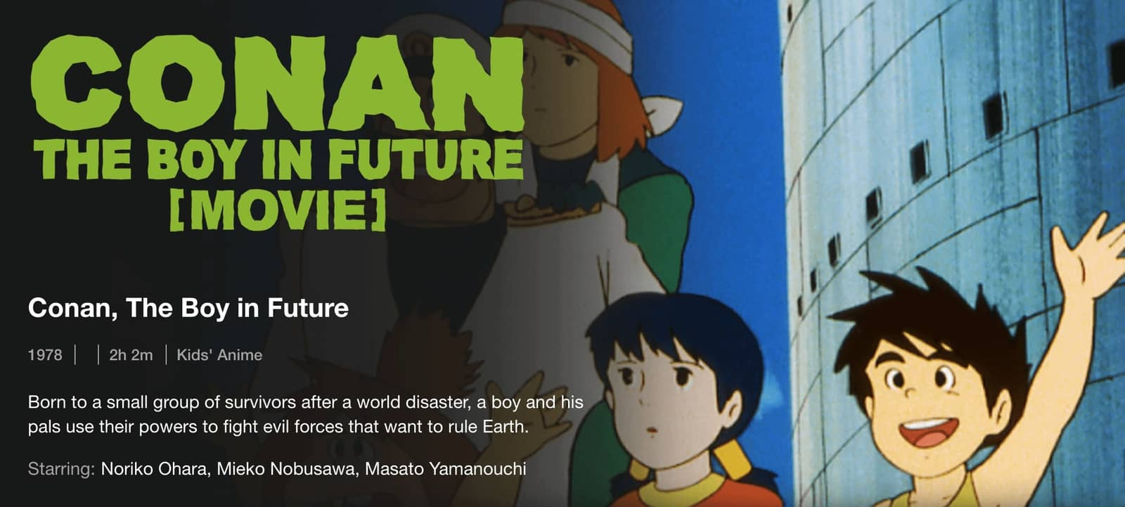 Conan The Boy in Future