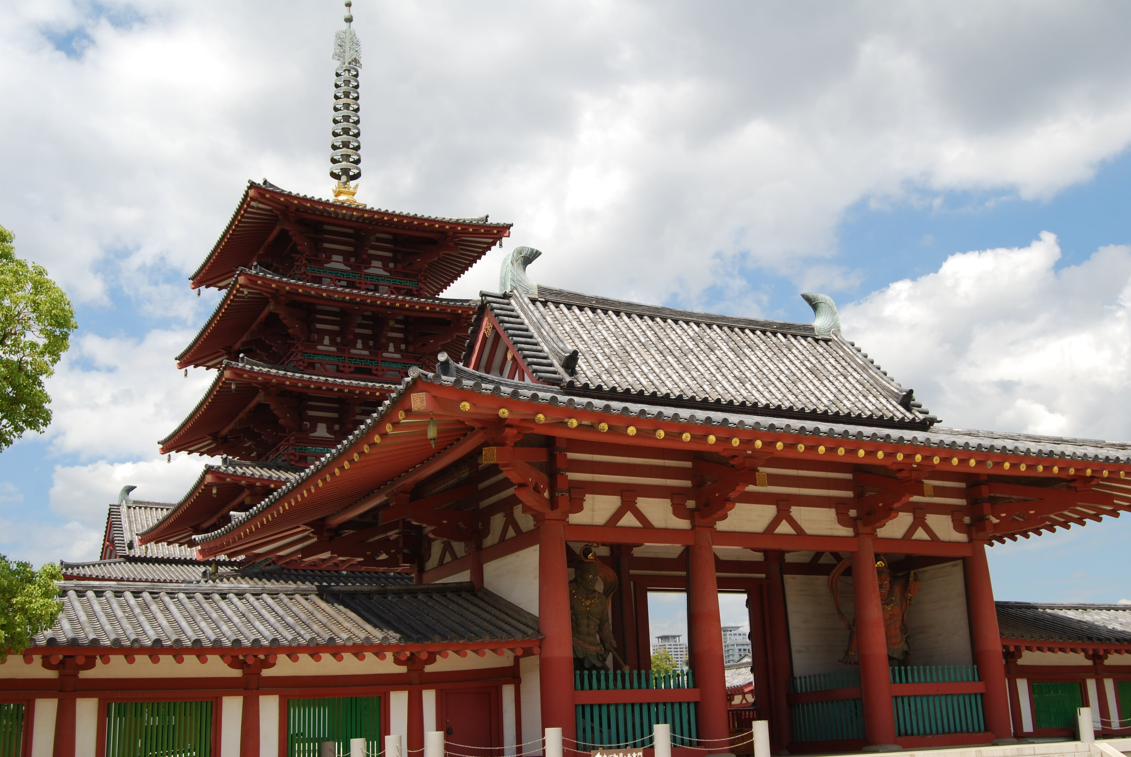 Five-story Pagoda from outside