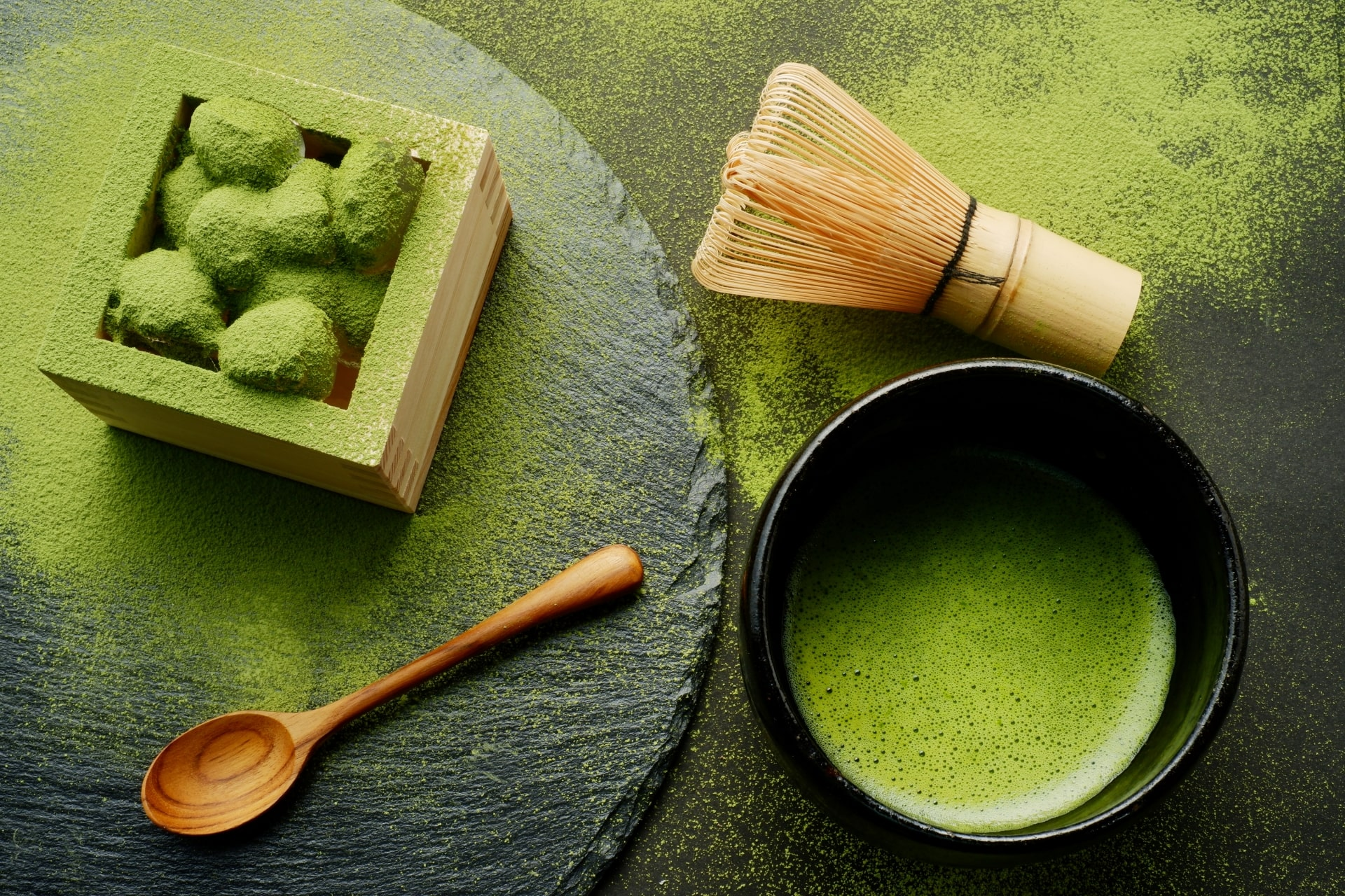 Matcha Food and Drinks in Japan 2020