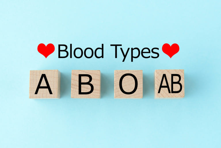 Blood Types Japan