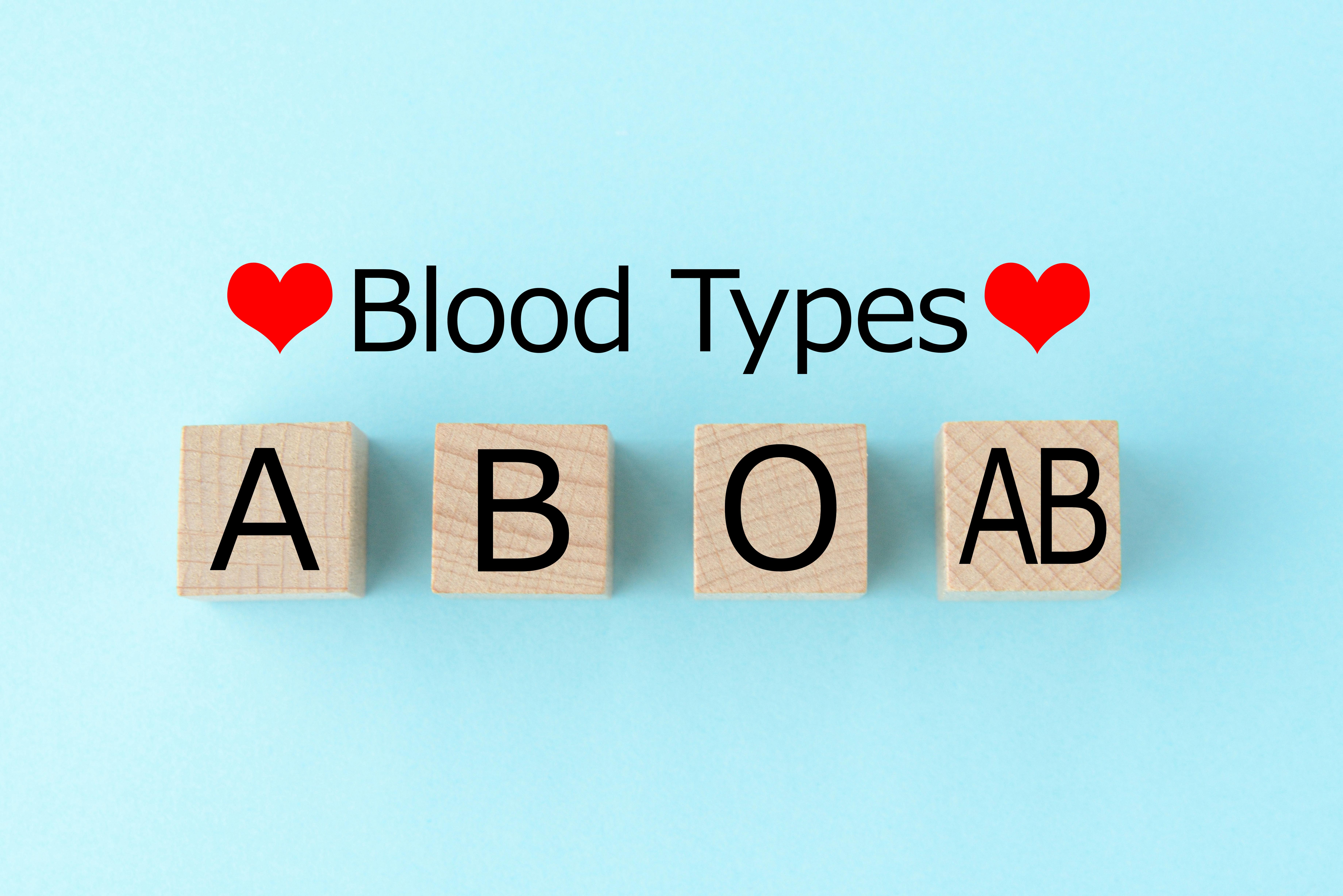 Blood Types Japan