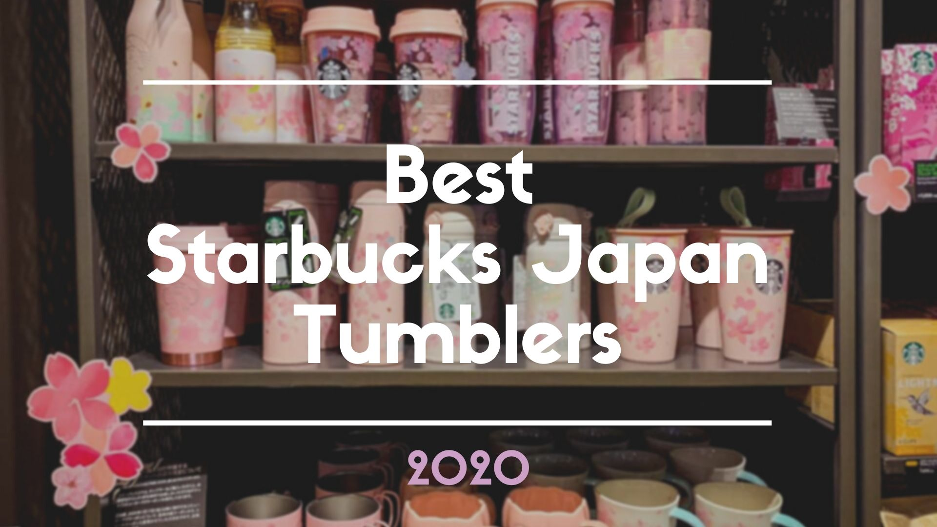 Best Starbucks Japan Tumblers to Buy in 2020