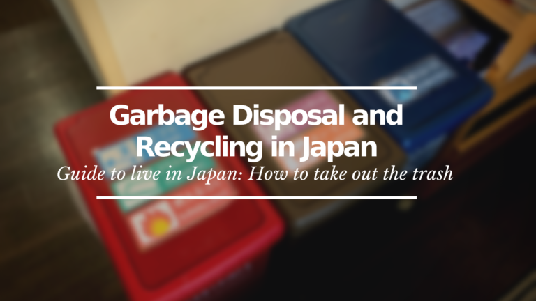 Garbage Disposal in Japan