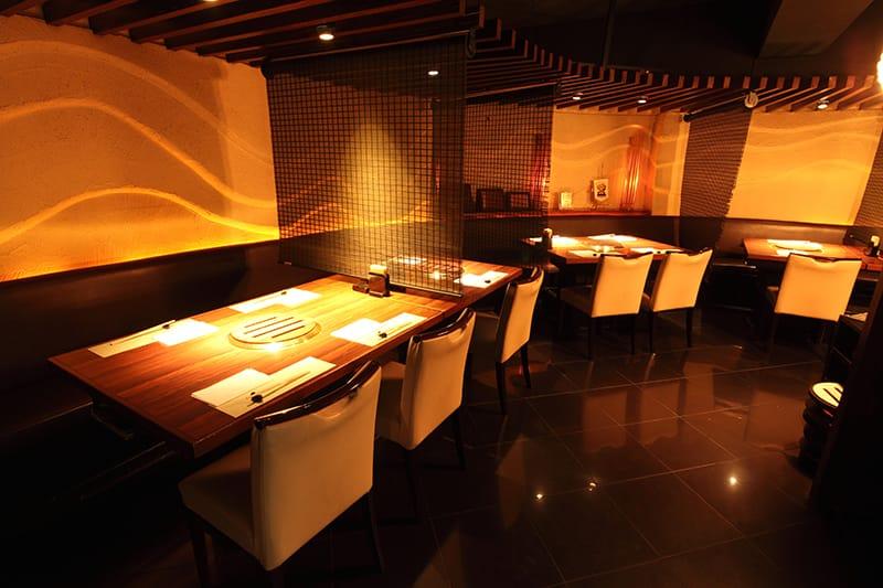 Ikuta restaurant view