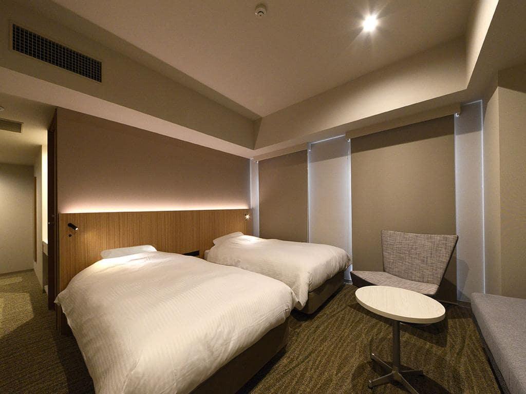 JR Inn Sapporo-eki Minami-guchi room view