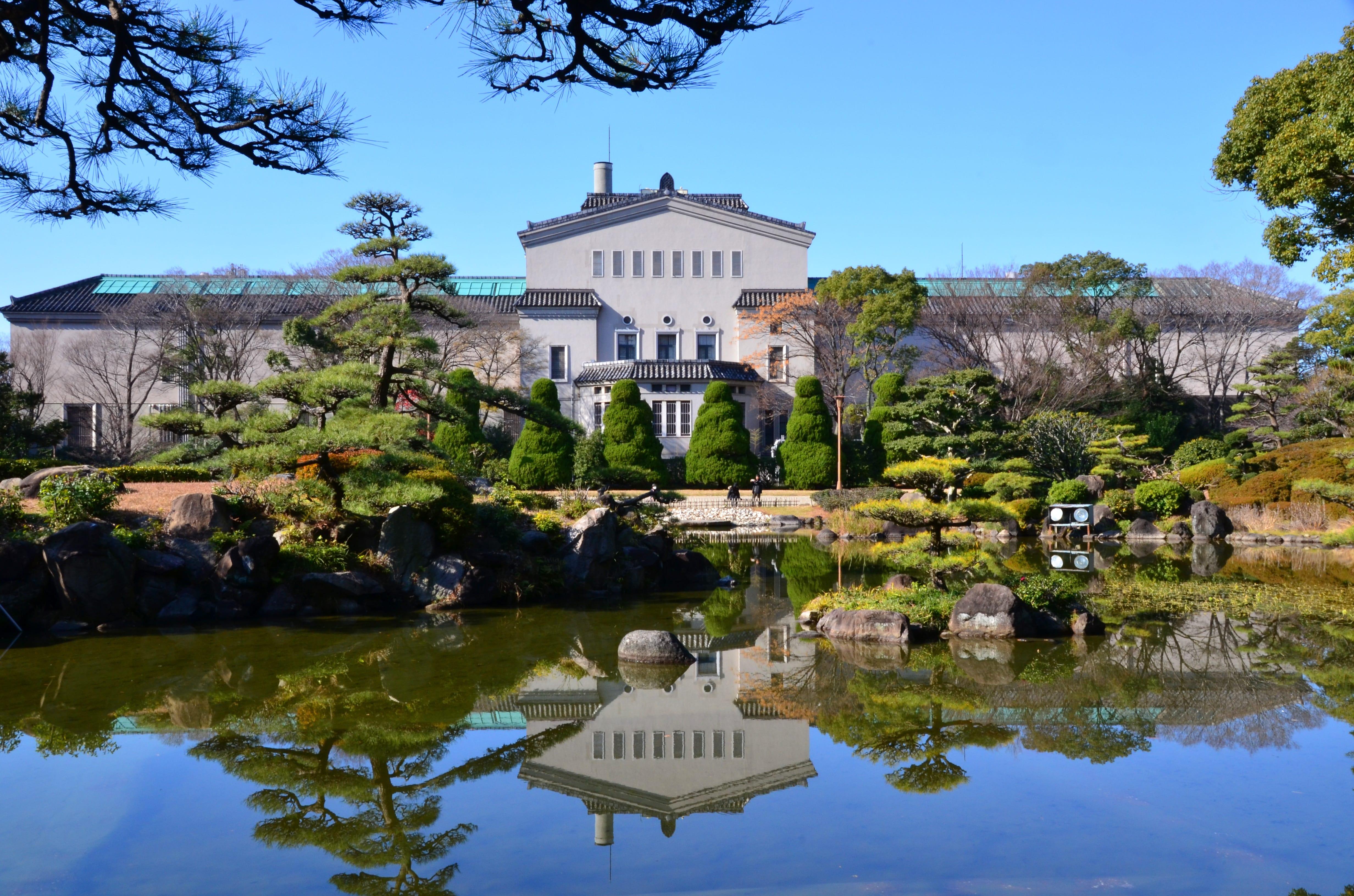 Osaka City Museum of Fine Arts outside view