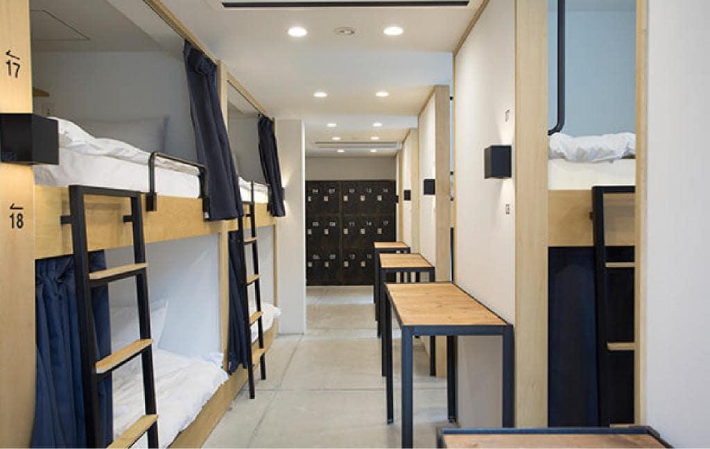 Piece Hostel Kyoto room view