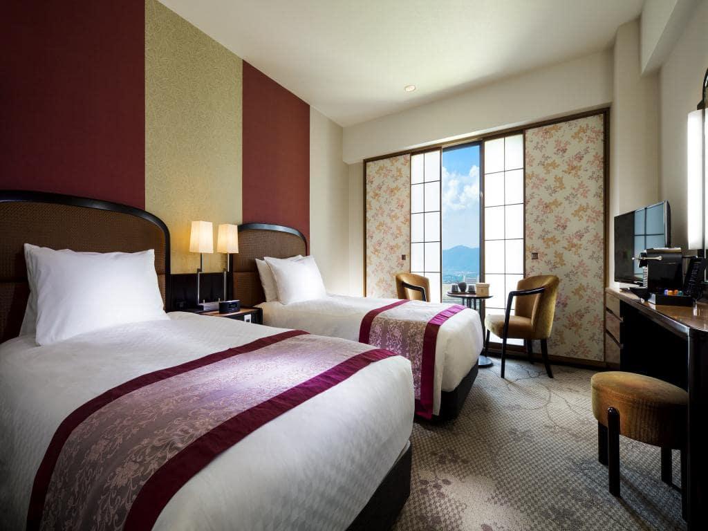 RIHGA Royal Hotel Kyoto room view