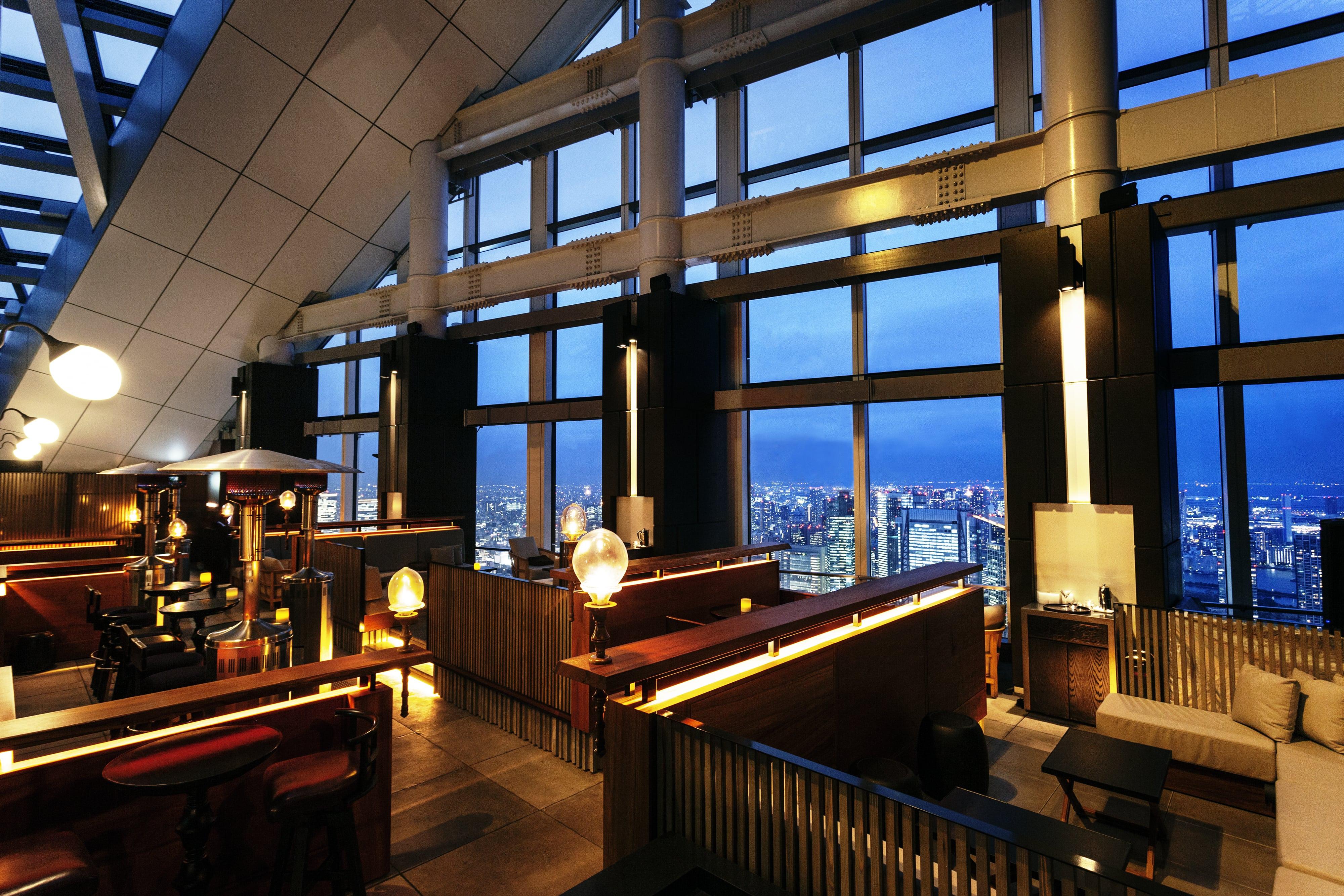 Rooftop Bar (Andaz Tokyo) restaurant view