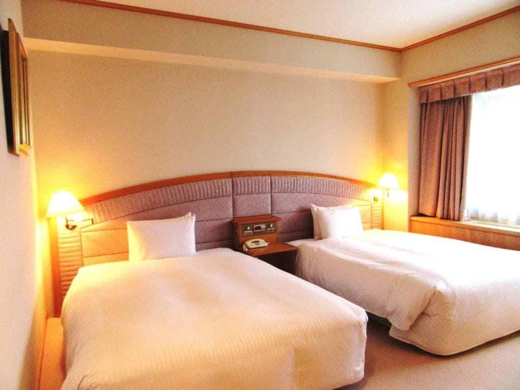 Sapporo View Hotel Oodori Kouen room view