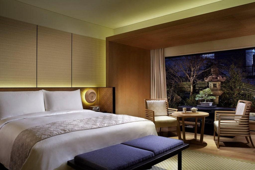 The Ritz-Carlton, pemandangan kamar Kyoto