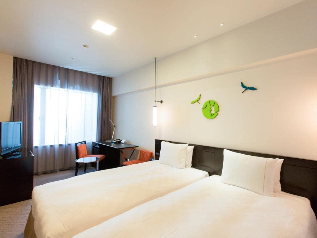 The Royal Park Hotel Kyoto Sanjo room view