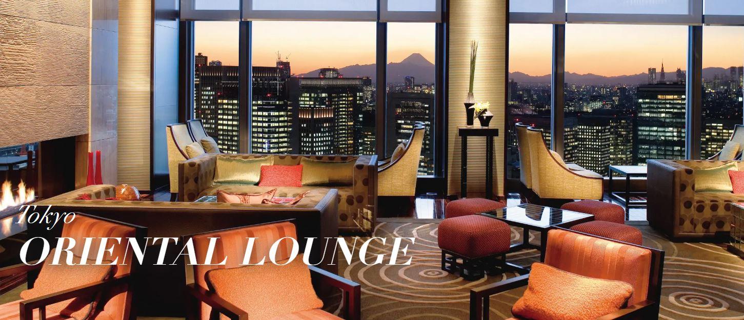 Tokyo Oriental Lounge view