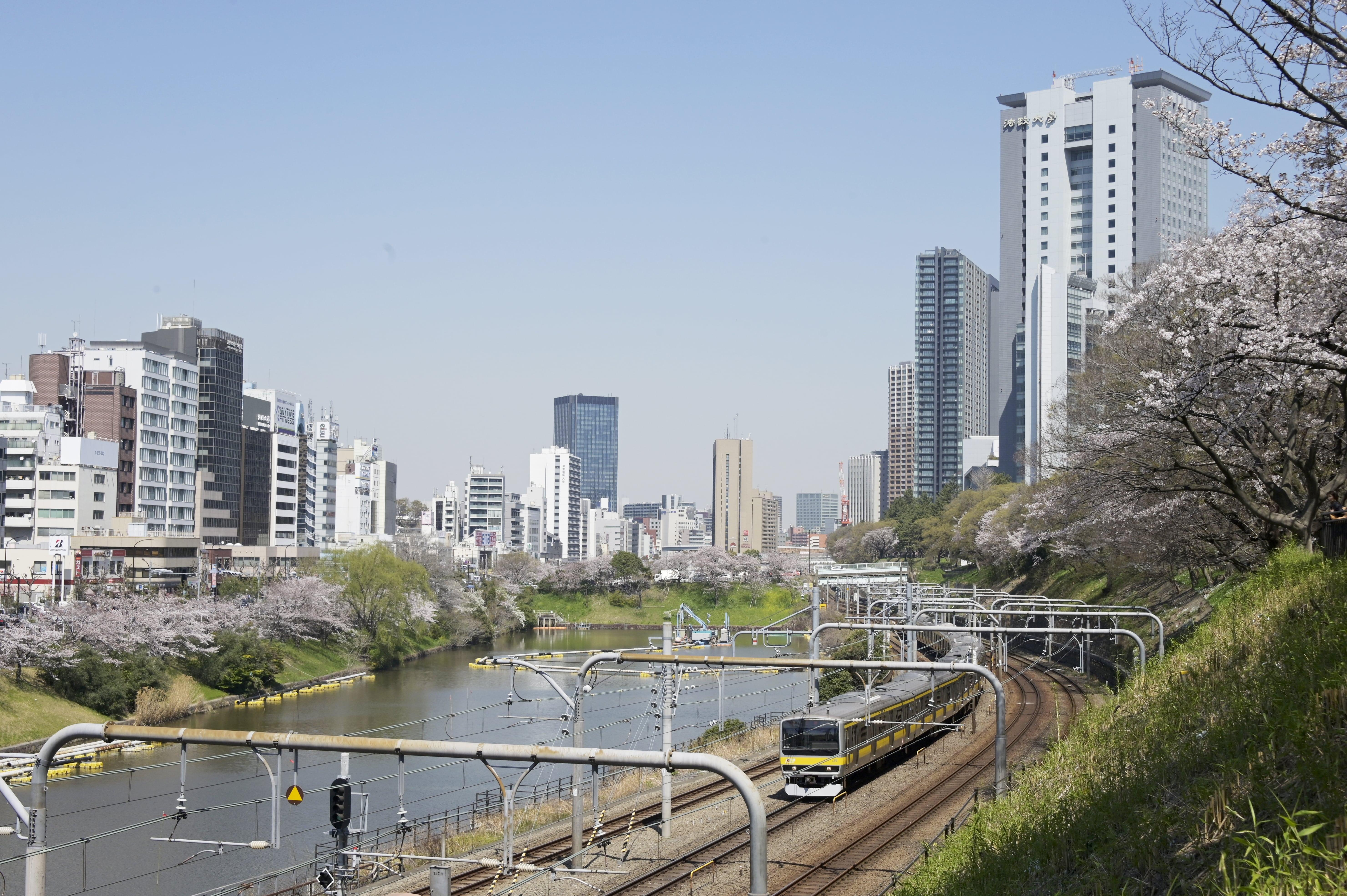 Ichigaya view