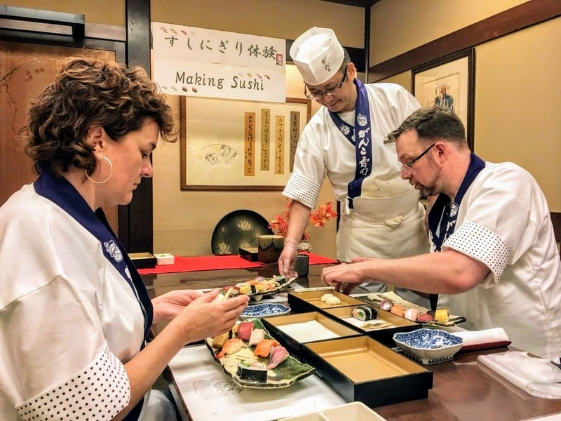Sushi Making Experience Tour