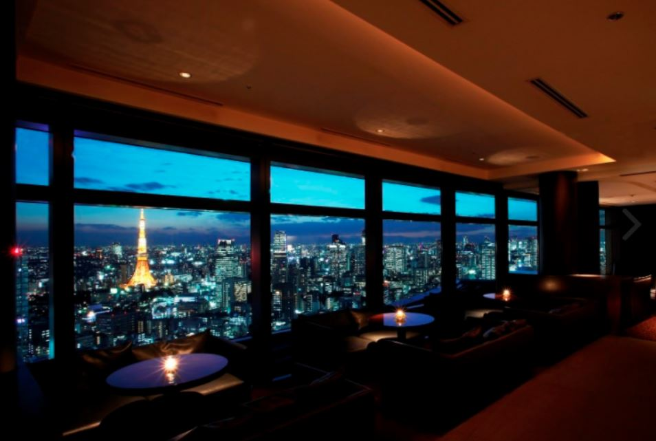 majestic shiodome view