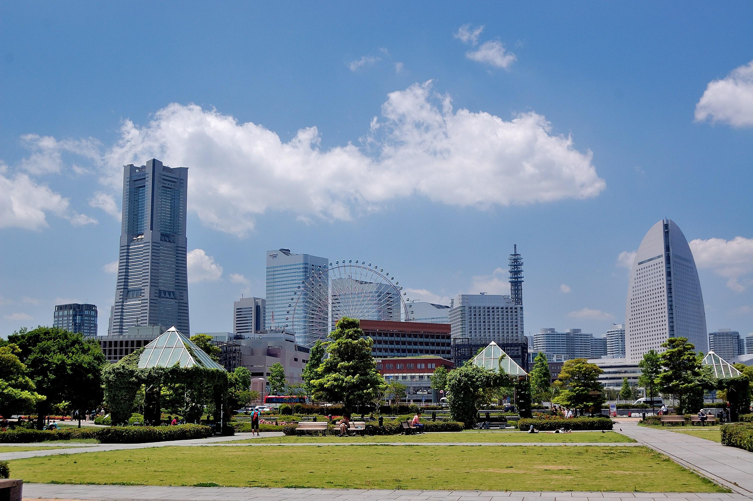 Yokohama morning view