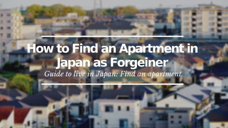 Apartments in Japan