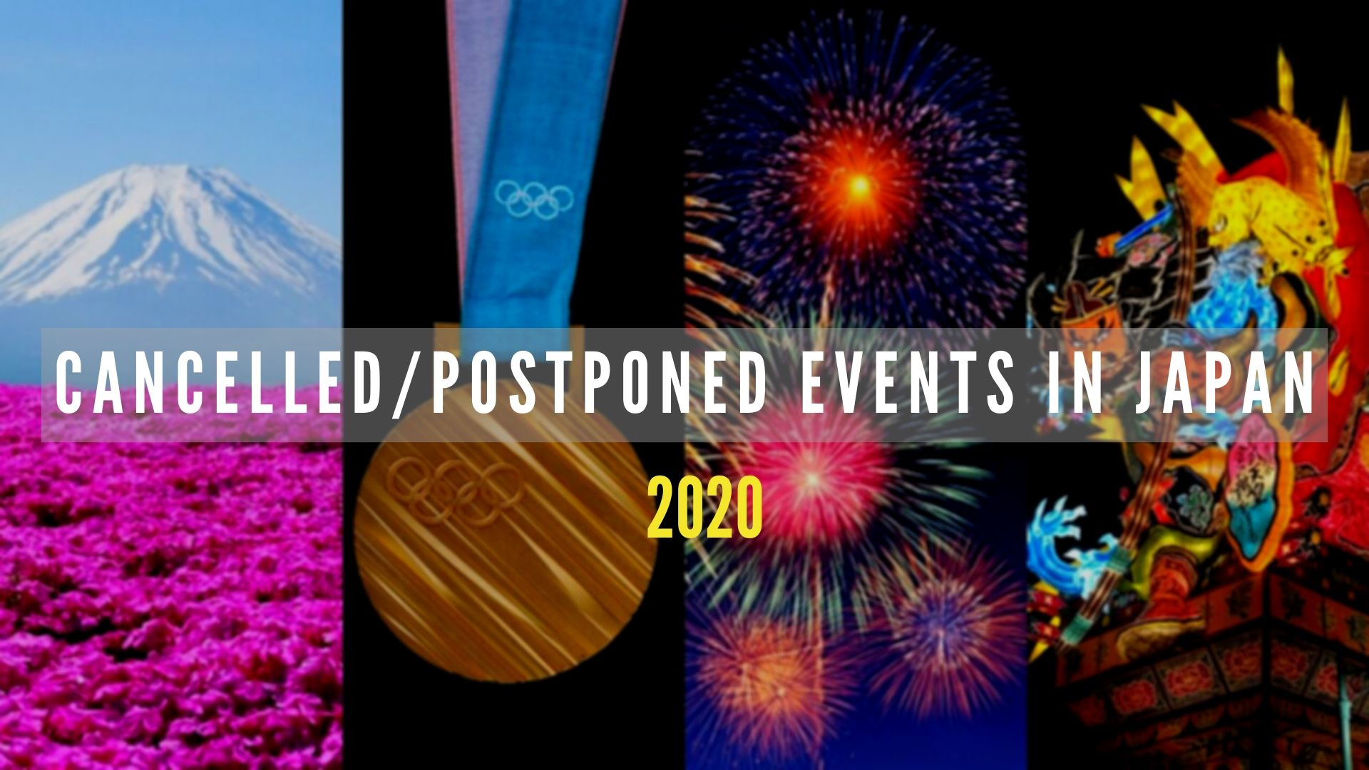 Cancelled Events in Japan 2020