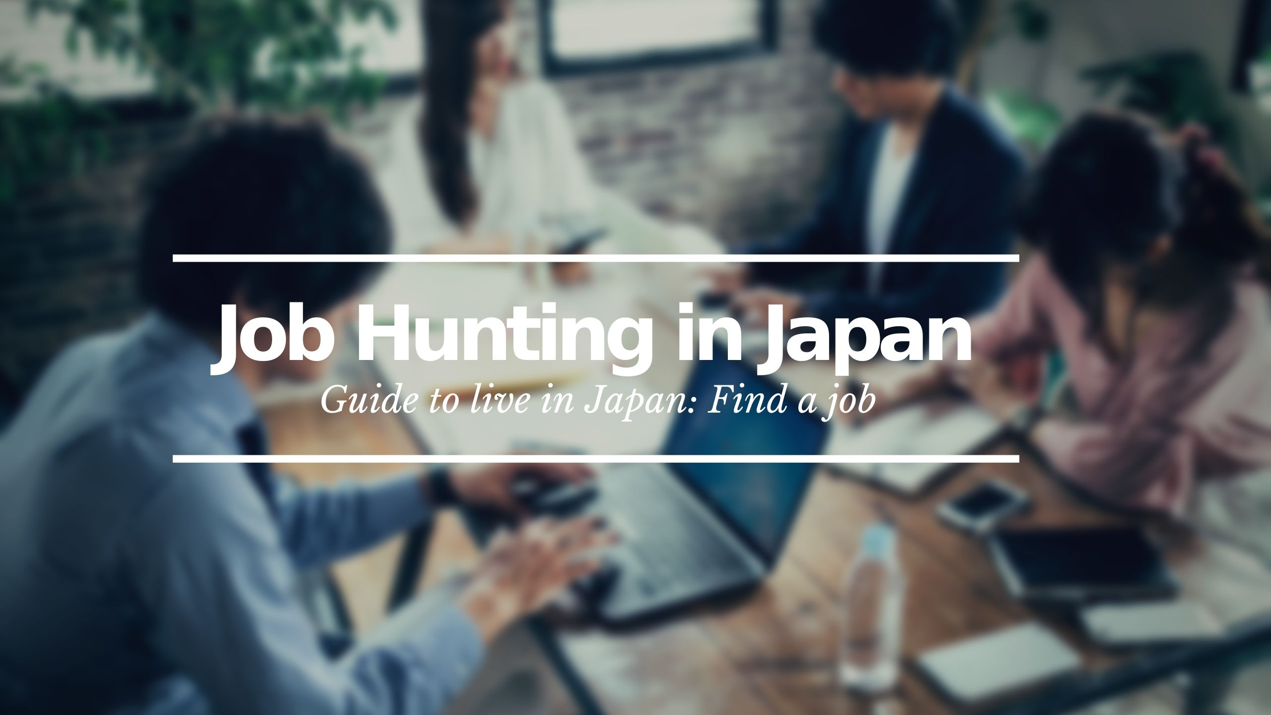 Jon Hunting Japan