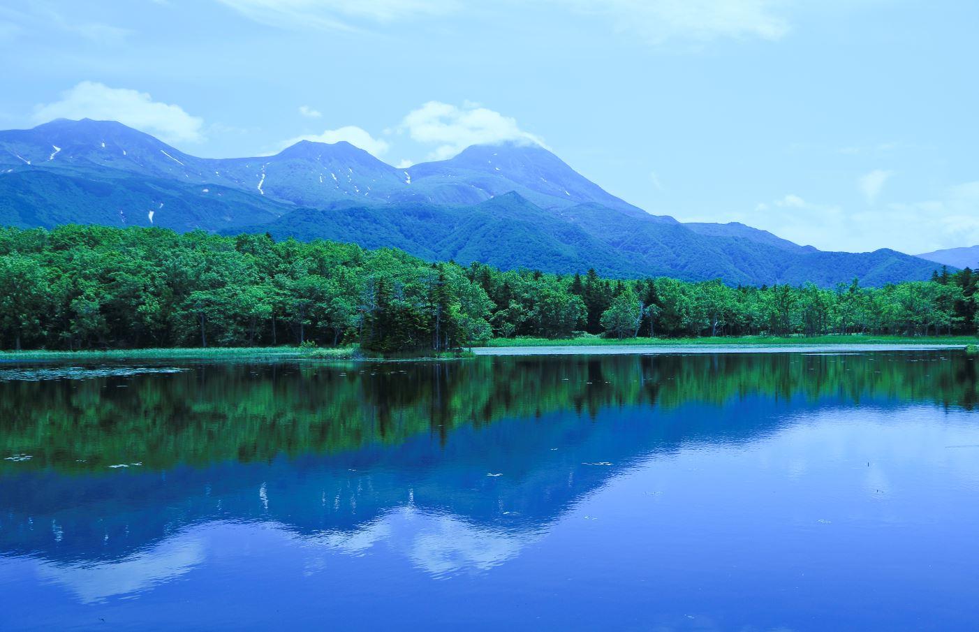 Shiretoko National Park view