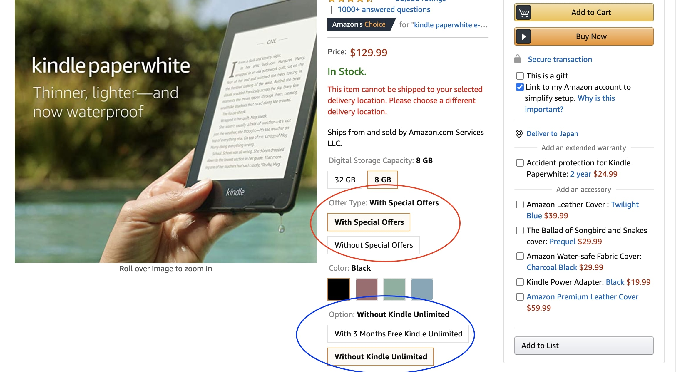 How to Buy Kindle on Amazon