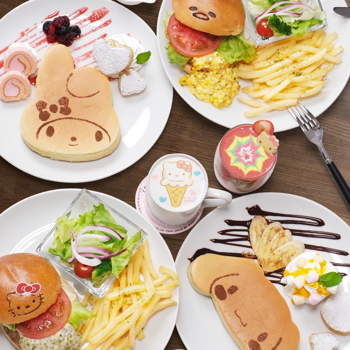 SANRIO CAFE in Ikebukuro, Tokyo