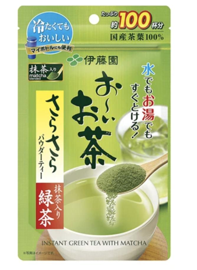 Itoen Oi Oicha Instant Green Tea With Matcha Powder
