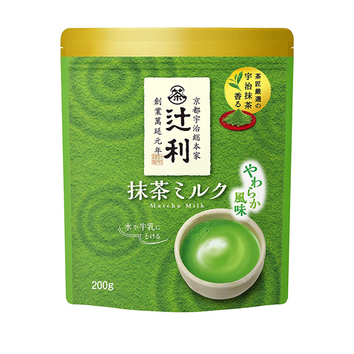Tsujiri Matcha Milk Mild Flavor