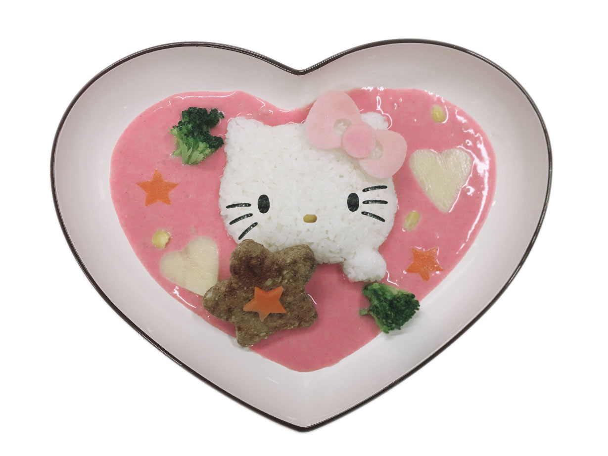 Hello Kitty's Lovely Pink Curry